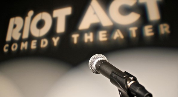 Photo Courtesy of Riot Act Comedy Theatre