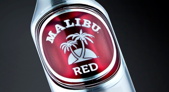 New Malibu Red is a combination of coconut rum and silver Tequila.
