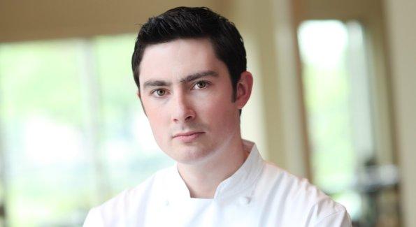Chef Matthew Petersen of the Mandarin Oriental's CityZen and Sou'wester.
