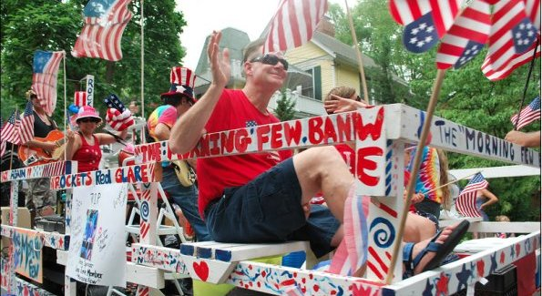 A float from the 2011 Takoma Park Independence Day Parade (Photo courtesy of Julie Wiatt).