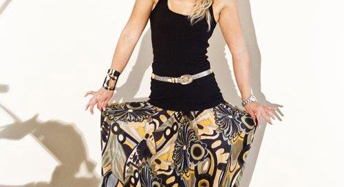 My colorful harem pants (Photo by Violetta Markelou)