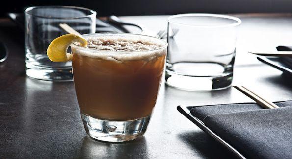 The Filipino Iced Coffee at Zengo mixes vanilla vodka, espresso liqueur and coconut water.