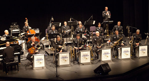 U.S. Navy Commodores Jazz Ensemble (Photo by United States Navy Band via Flickr)