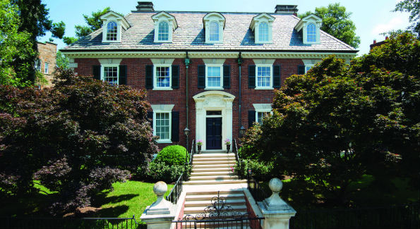 The Woodland Drive NW mansion once owned by Federal Reserve Chairman William McChesney Martin recently sold for $7.95 million.