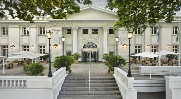 The Park Hyatt Mendoza is a great home base for exploring the region's wineries.