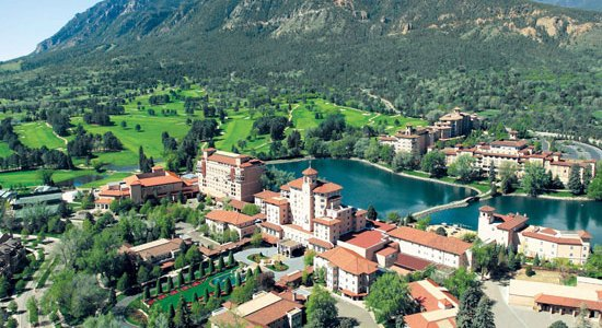 The Broadmoor's sprawling compound.