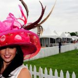 Wear your festive hats to The Preakness (Photo by Kyle Samperton)