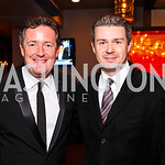 Piers Morgan, Andrew Shortell. CNN Congressional Correspondent's Dinner After Party. Photo by Tony Powell. Lincoln. March 30, 2011