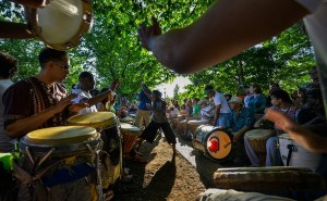 Rhythm in the Park: Drum Circle