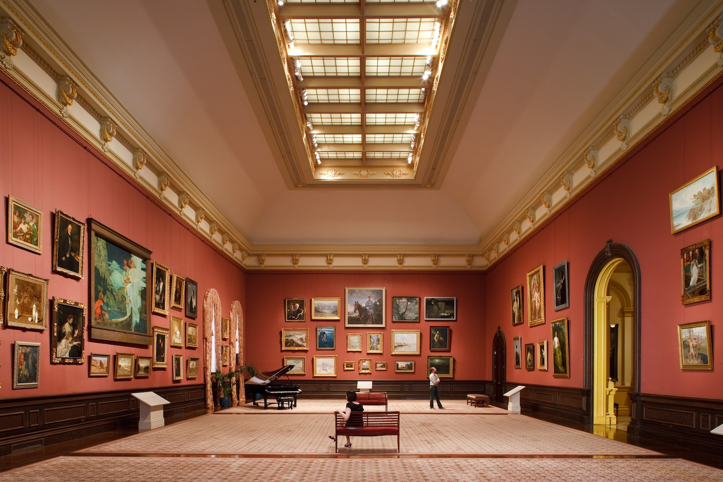 Grand Salon Renwick Gallery S Two Year Renovation Will Craft A Cutting Edge