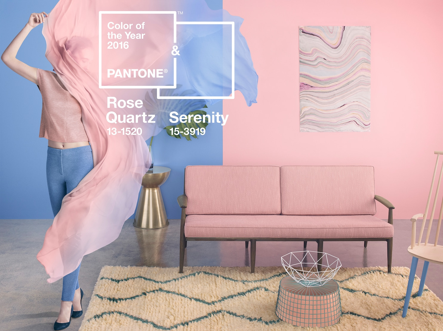 Pantone Color 2016 Surprise Pantone S Color Of The Year Is Actually Two Colors The