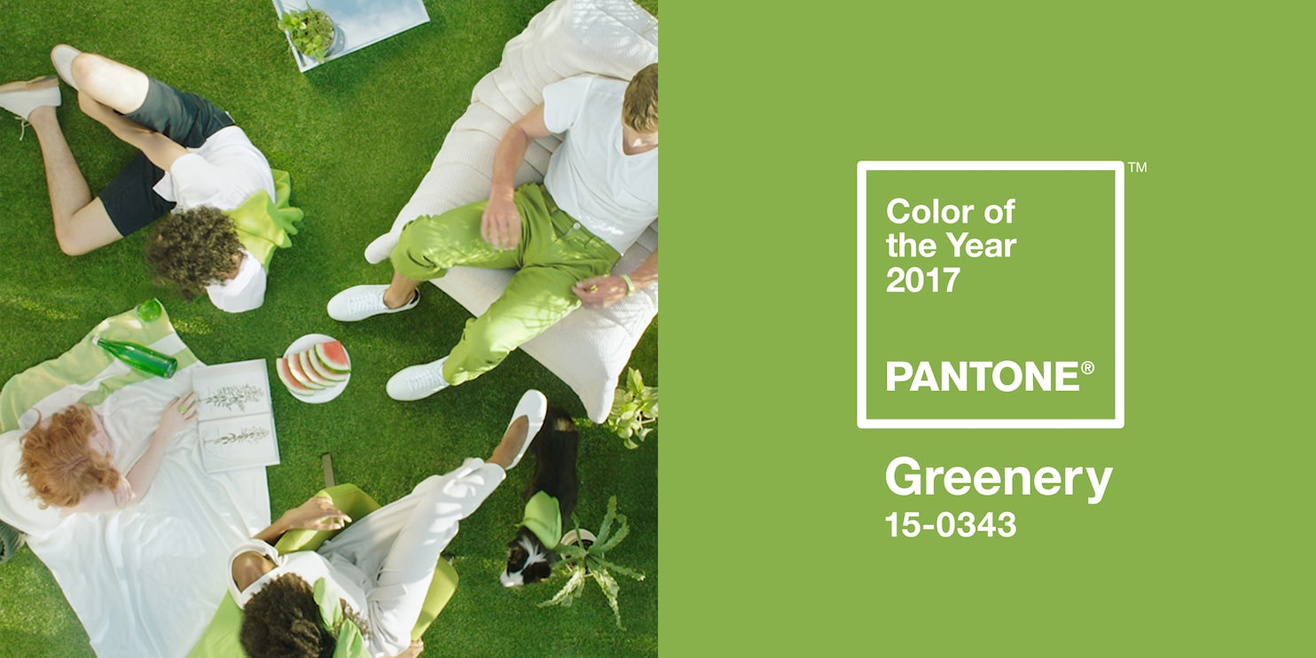Greenery Pantone Pantone S 2017 Color Of The Year Is A Bright And Powerful Green