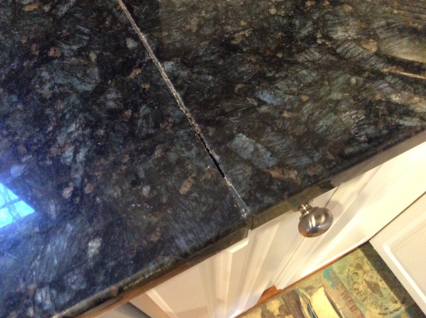 How To Repair Marble Countertops How To Restore The Seam In A Granite Countertop The
