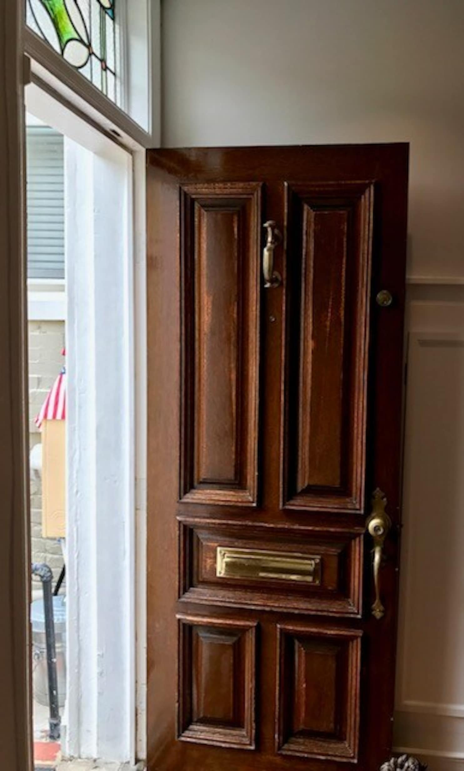 Glass Front Door How To Replace A Wooden Front Door With One That Has Glass Panels