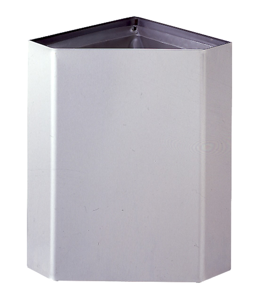 Corner Stainless Steel Trash Can Bobrick B 268 Corner Waste Receptacle Bobrick Distributor