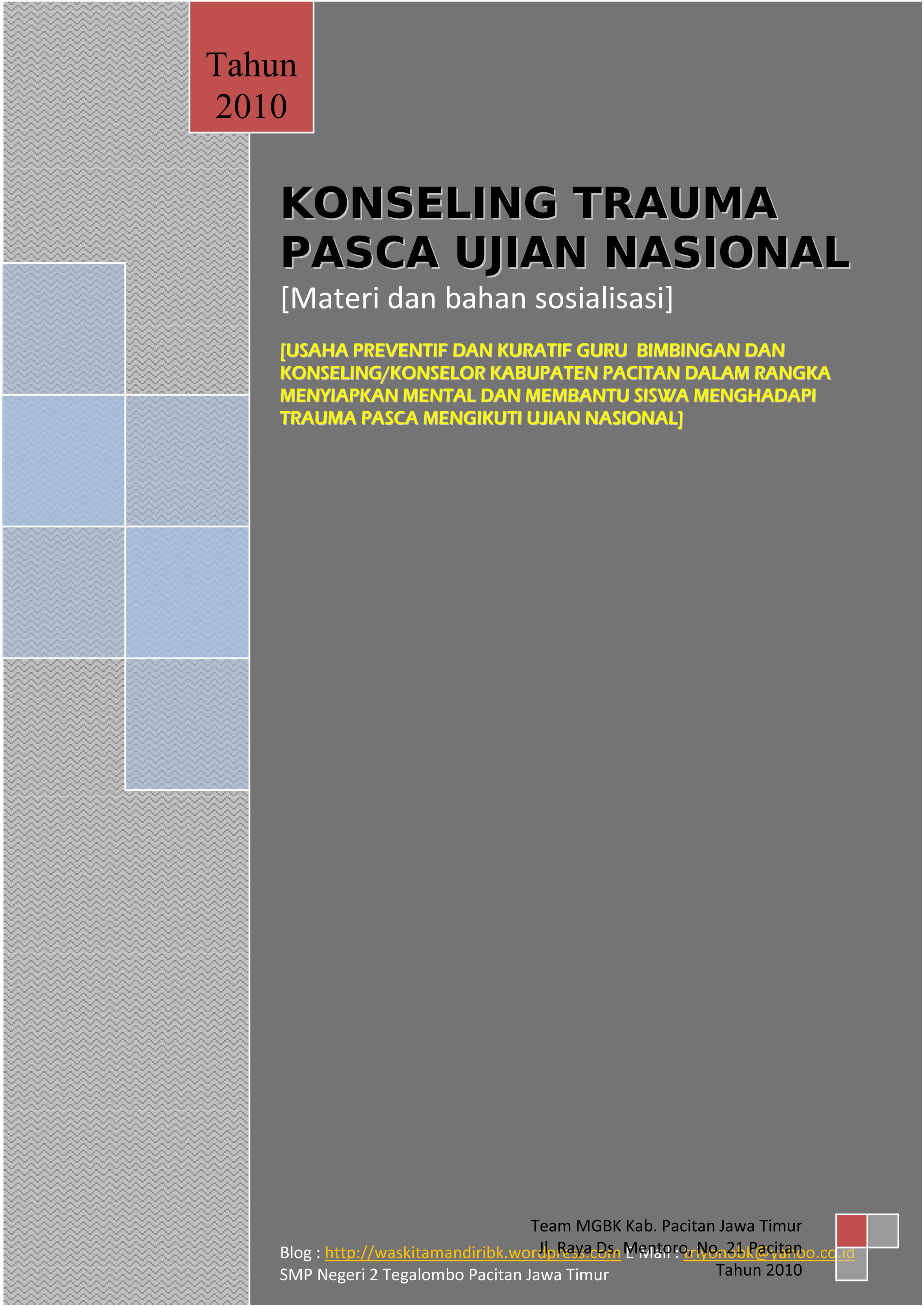 Download Materi Bimbingan Konseling Smp