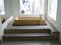 Japanese Wood Bath in Western Room - WASOU
