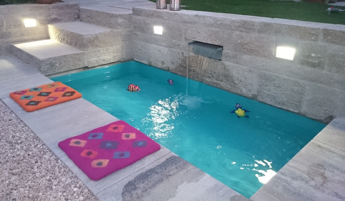 Gfk Pool Wassertemperatur Wasserbecken