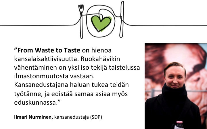 Ilmari Nurminen_suositus_From Waste to Taste
