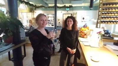 From Waste to Tasten Sini Suomalainen vierailulla Instock-ravintolassa