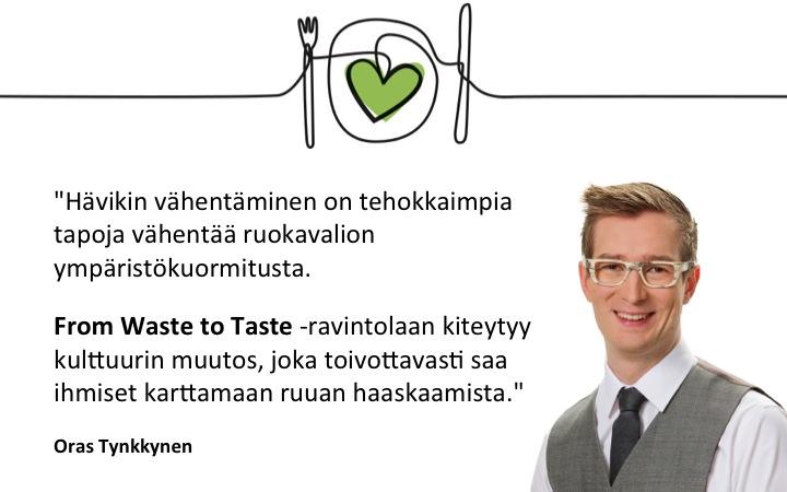 Oras Tynkkynen_suositus_From Waste to Taste