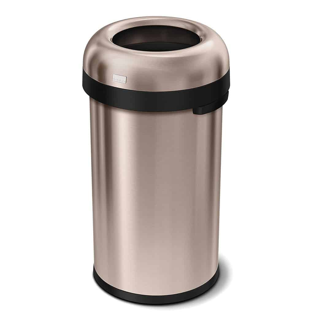 Stainless Steel Tall Kitchen Garbage Can Top 5 Best Tall Kitchen Trash Cans Review For The Above