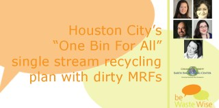 Single Stream Recycling and Dirty MRFs