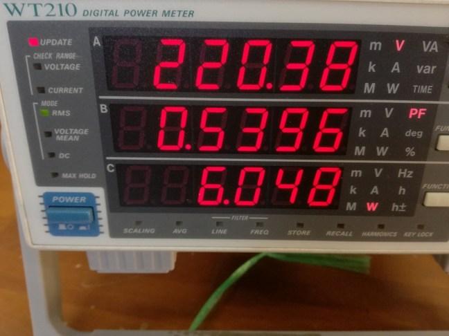 philips-6w-input-testing