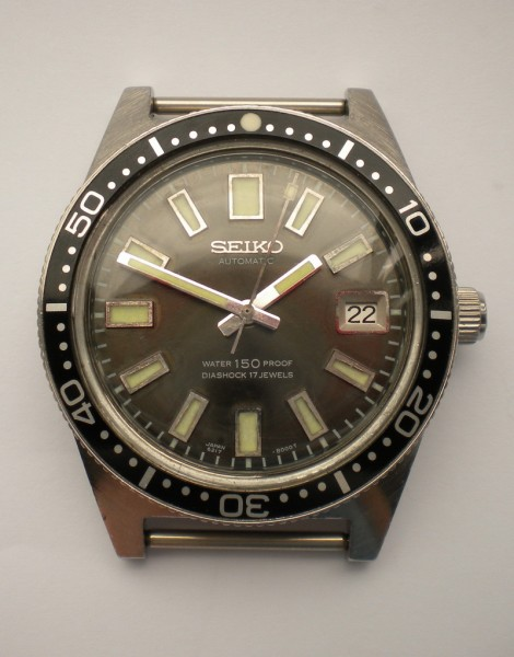 Early Seiko 62MAS With Small Crown