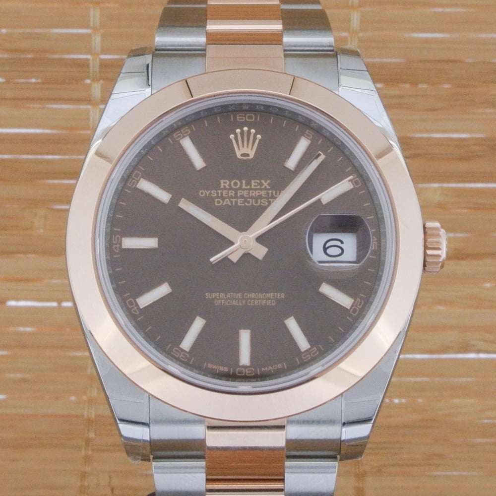 Rolex Second Hand Rolex Datejust 41 Unworn With Box And Papers From January 2017
