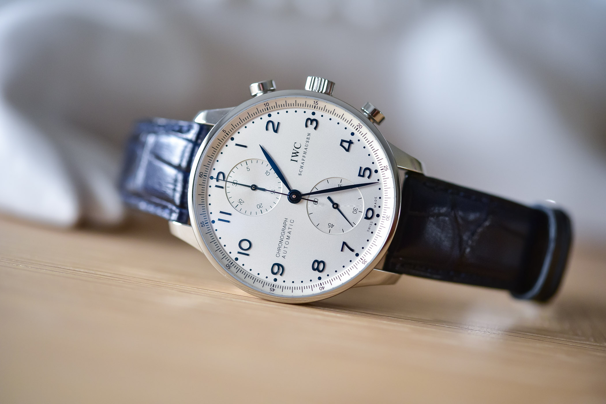 Iwc Replica Top Swiss Iwc Portugieser Chronograph 3714 Replica Watches On Sale