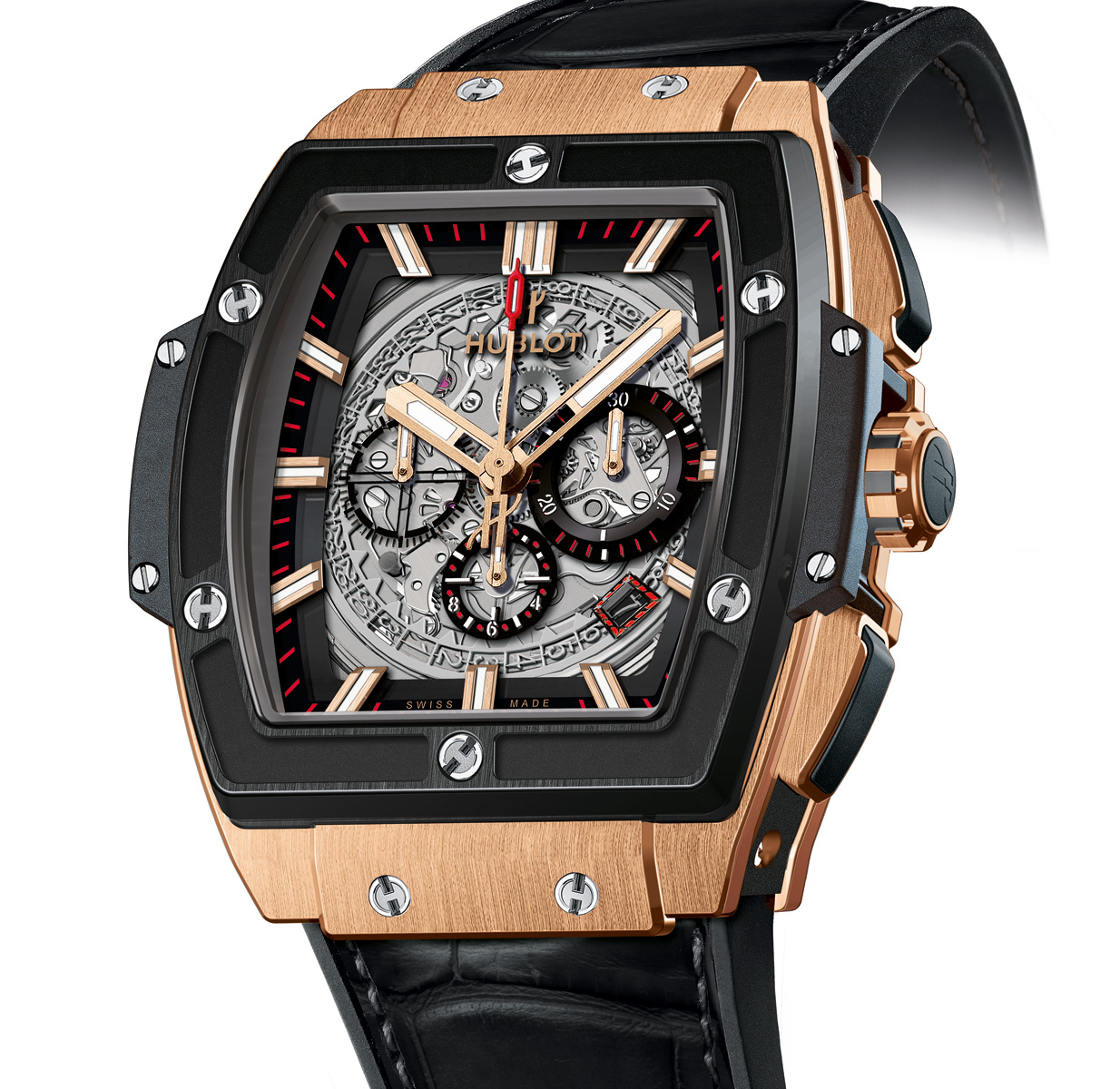 Movement Replica Swiss Watch The Hublot Replica Swiss Movement Big Bang Powered By The Zenith