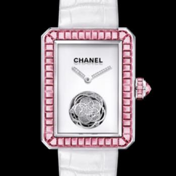 Chanel Premiére Tourbillon Volante con zafiros rosas.