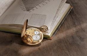A. Lange & Söhne inició los cronógrafos de bolsillo de trinquete-volante. Este reloj de un valor incalculable se remonta a 1903.