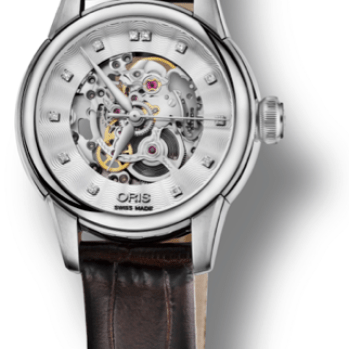 Oris Artelier Skeleton Diamond3