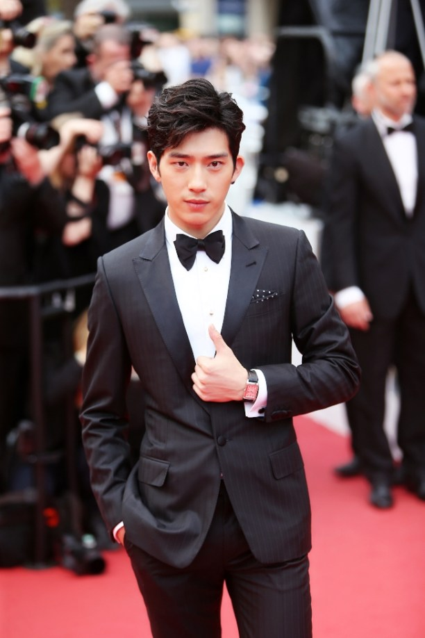 Jing Boran attends a screening of 'The BFG' at the annual 69th Cannes Film Festival in May 2016