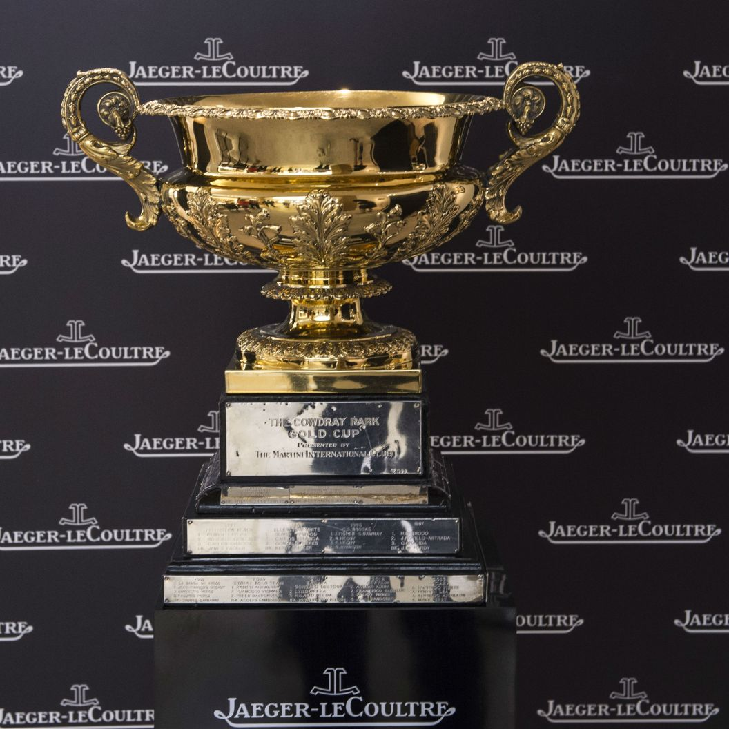 Gold Cup Trophy - credit Vanessa Taylor Photography