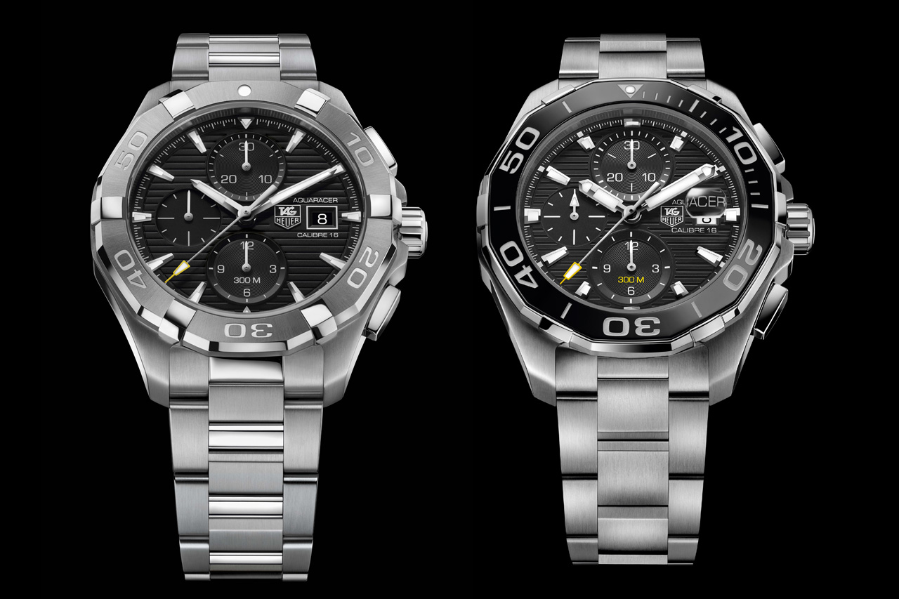 Tag Heuer Calibre 16 The 2015 Tag Heuer Aquaracer 300m Collection | Watchpaper