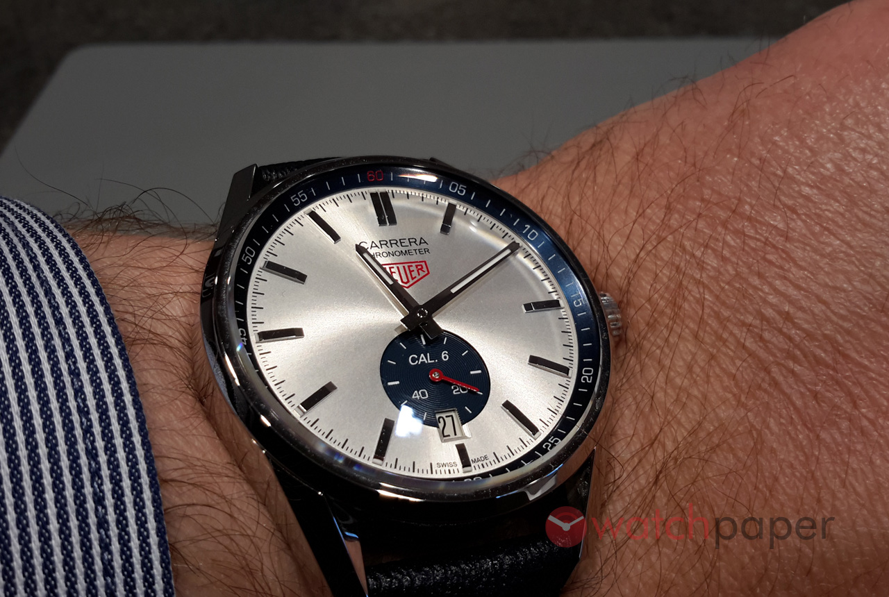 Cariera' Tag Heuer Carrera 39 Mm Calibre 6 Hands On Review Watchpaper