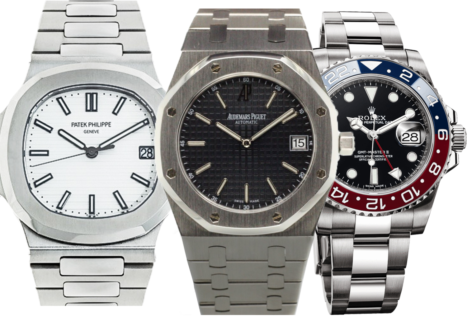 Rolex Patek Which Way Now For For Rolex Patek Philippe And Audemars Piguet