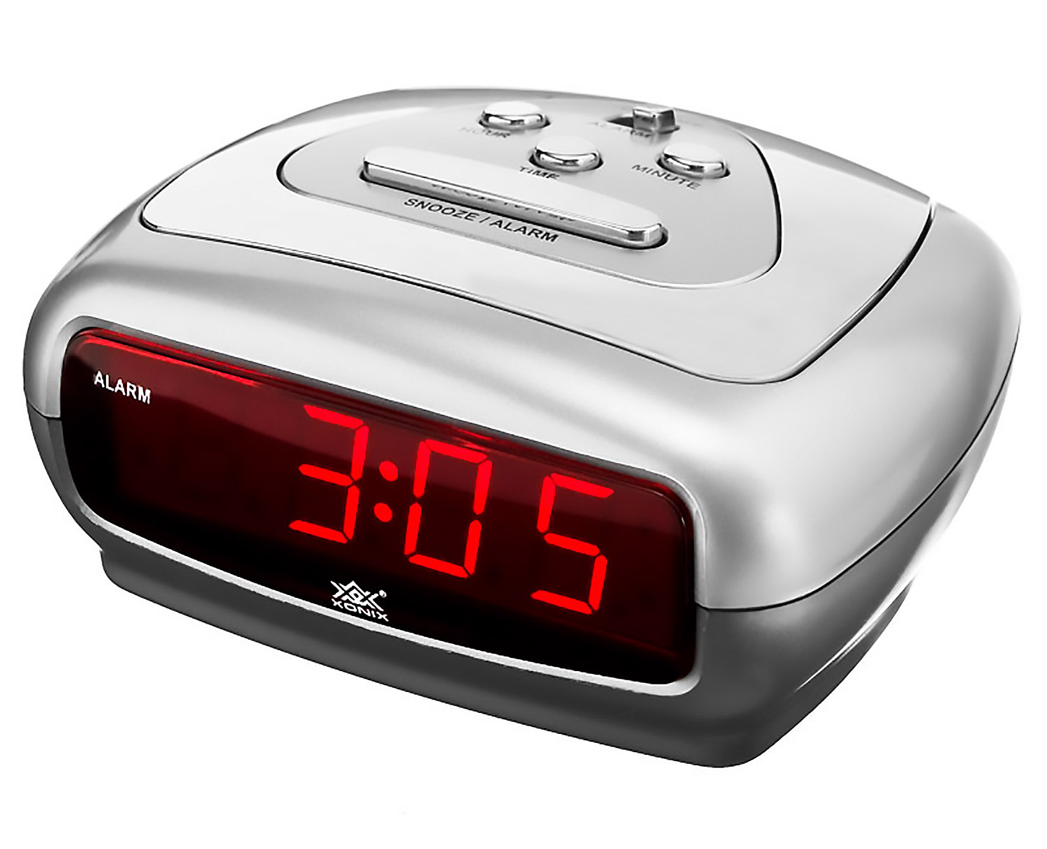 Small Led Alarm Clock Small Alarm Clock Xonix 43 Snooze Sharp Digital Led