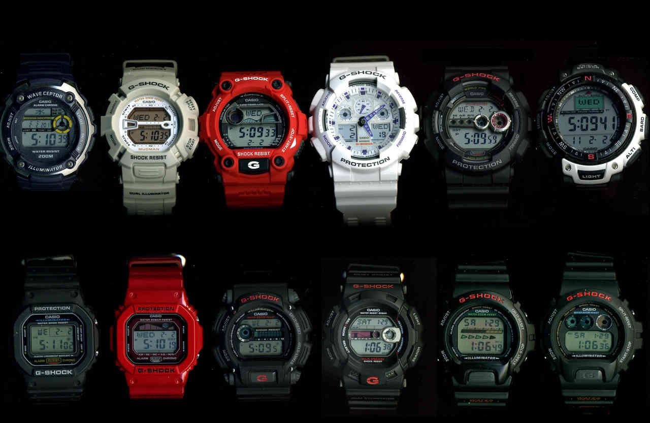 Unique Digital Watches 7 Watches That Changed The World Watchuseek