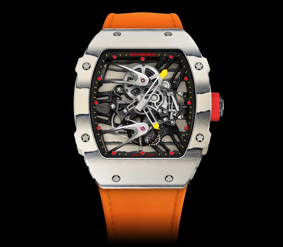 Womens Watches Only Watch 2015: Richard Mille Donates Rafael Nadal Rm 27