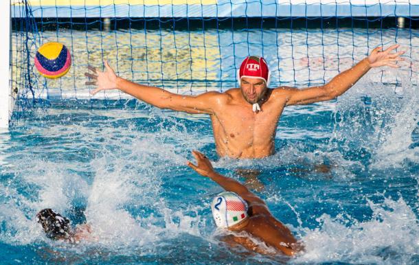 WATER POLO : Italie vs Allemagne - 15eme Championnats du monde de natation 2013 - Barcelone - 24/07/2013