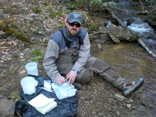 Field sampling: Damion Drover