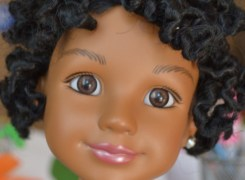 My Daughter Isn't Impressed By White Dolls