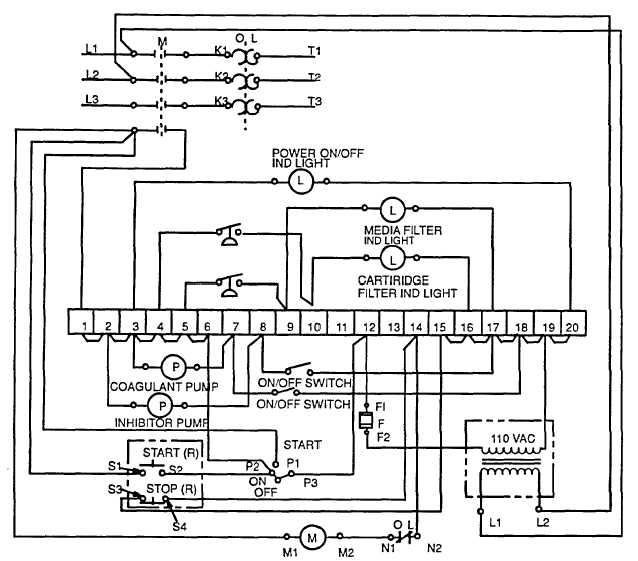 step 1 the schematic of the pump controller
