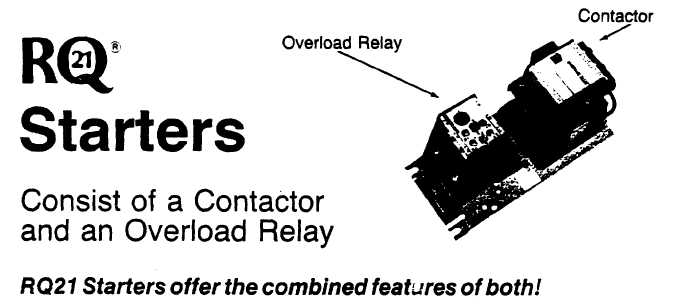 overload relay current rating