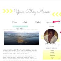 New Blogger Template//Arrow
