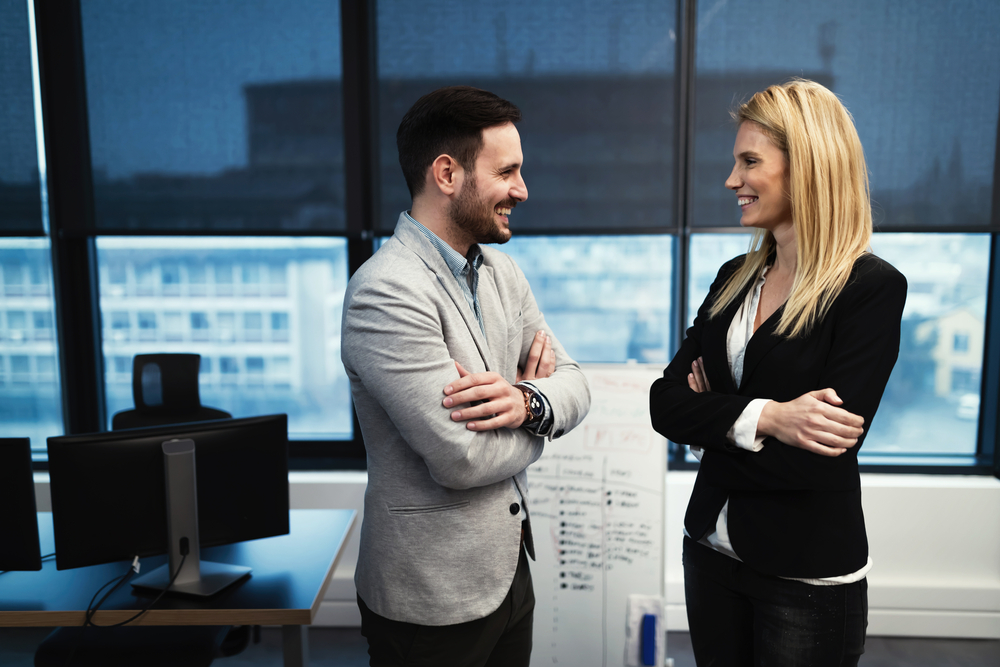 Man Proud Of Himself For Seeing Coworker As Person First, Sex Object